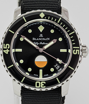 Blancpain Fifty Fathoms Ref. 5008-1130-B52A Jahr 2018 Herrenuhren | Meertz World of Time