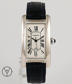 Cartier Tank Américaine Ref. 1726 year 1997 Gents Watches, Ladies Watches | Meertz World of Time