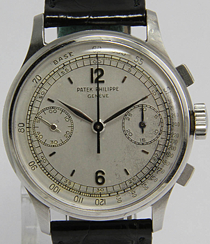Patek Philippe Chronograph Ref. 130 year 1939 Gents Watches, Vintage | Meertz World of Time