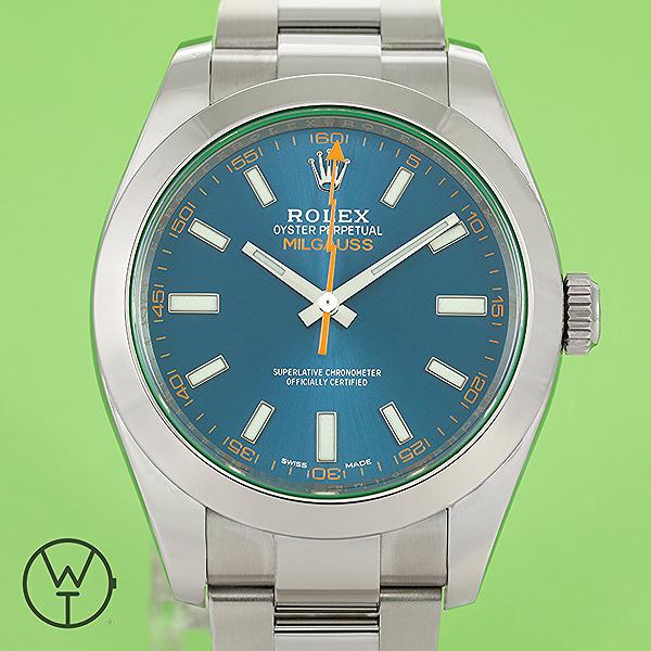 ROLEX Milgauss Ref. 116400 GV
