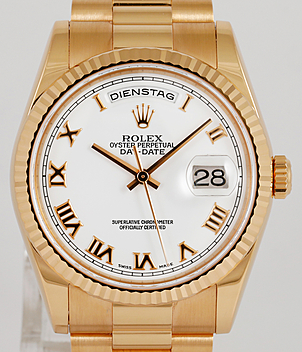 Rolex Day Date Ref. 118235 year 2001 Gents Watches, Ladies Watches | Meertz World of Time