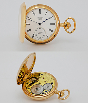 Lange & Söhne Pocket watch year ca. 1895 Pocket-Watches | Meertz World of Time