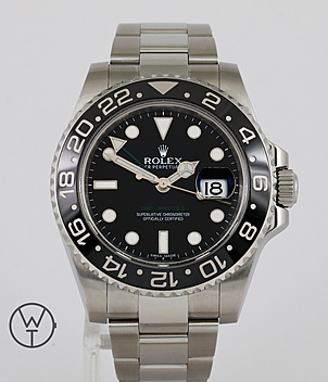 Rolex GMT Ref. 116710LN year 2011 Gents Watches | Meertz World of Time