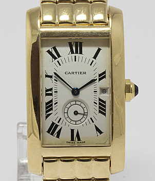 Cartier Tank Américaine year 1993 Gents Watches | Meertz World of Time