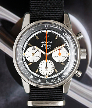 Enicar Sherpa Ref. 232-01-01 year 60ties Gents Watches, Vintage | Meertz World of Time