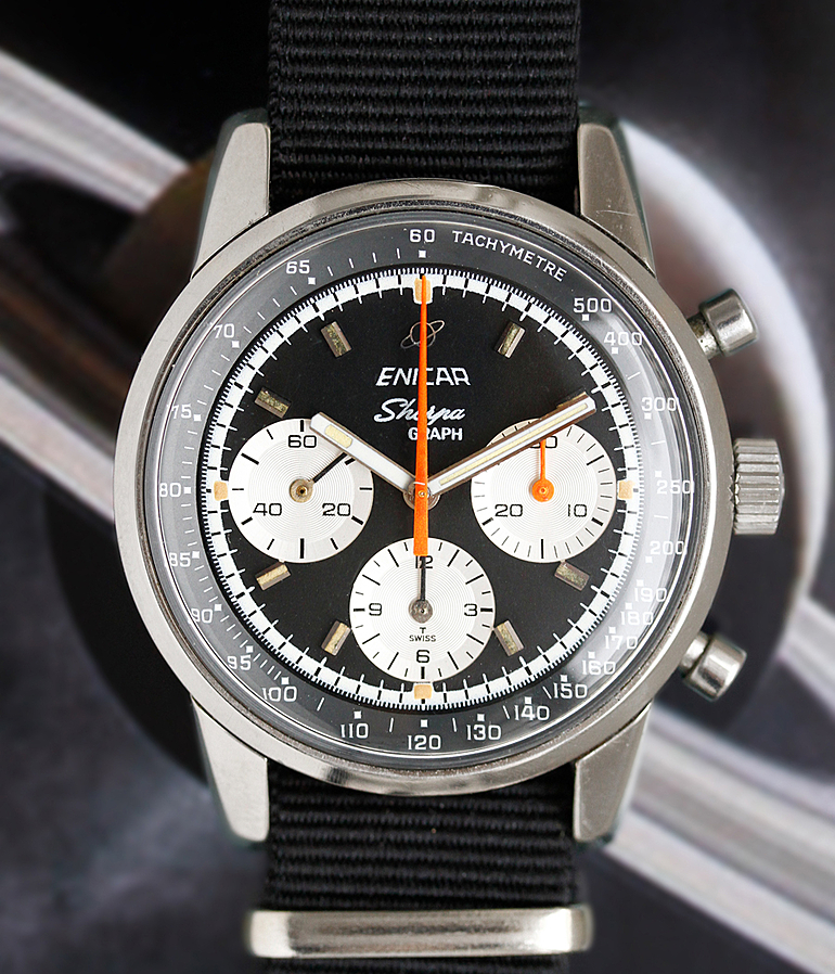 Enicar Sherpa RefId 232-01-01 year 60ties Gents Watches, Vintage | Meertz World of Time