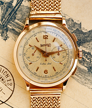 Eberhard Extra Fort year 1950 Gents Watches, Vintage | Meertz World of Time