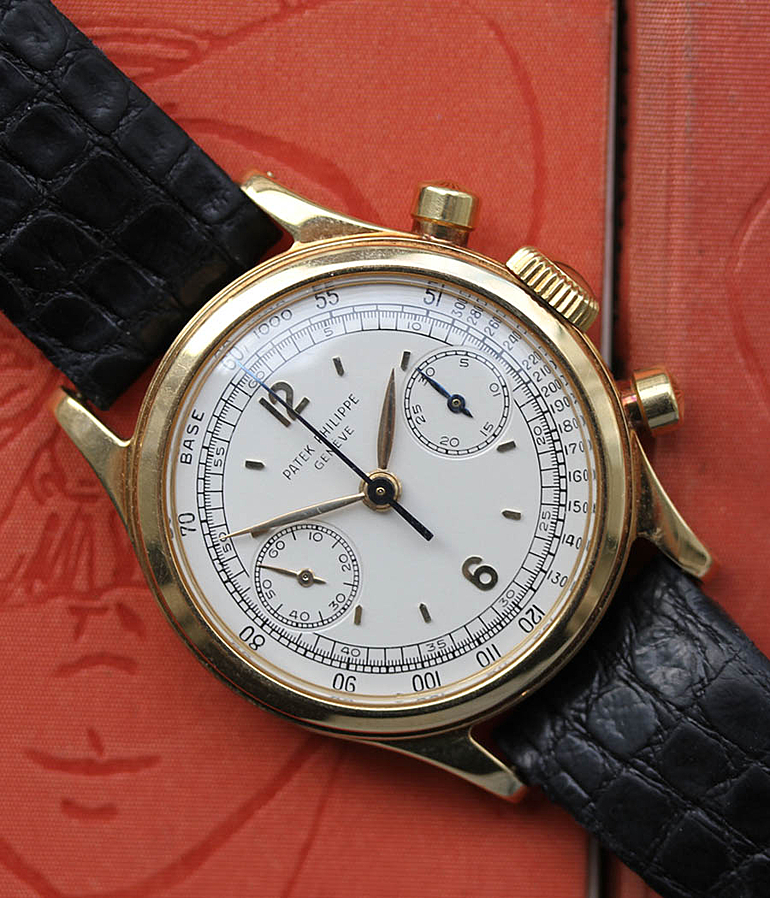 Patek Philippe Chronograph RefId 1463 year 1952 Gents Watches, Vintage | Meertz World of Time
