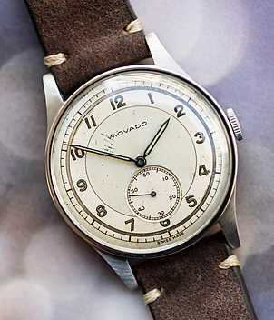 Movado Jahr 1950 Herrenuhren, Vintage | Meertz World of Time