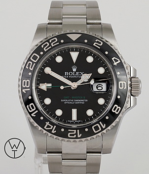 Rolex GMT Ref. 116710LN year 2015 Gents Watches | Meertz World of Time