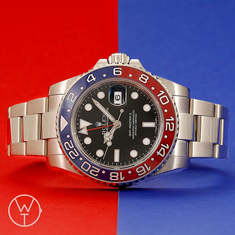 ROLEX GMT Ref. 116719BLRO
