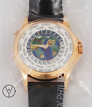 Patek Philippe Worldtimer Ref. 5131R-001 year 2015 Gents Watches | Meertz World of Time