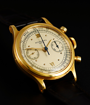 Patek Philippe Chronograph Ref. 1463 year 1946 Gents Watches, Vintage | Meertz World of Time