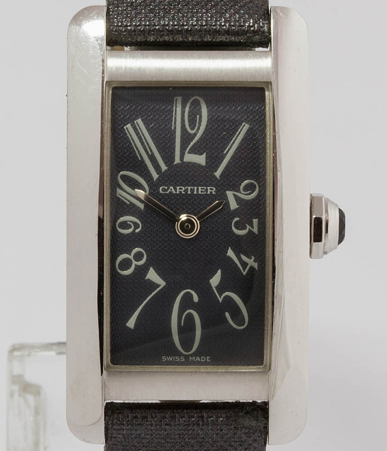Cartier Tank Américaine RefId 1713 year ca. 2005 Ladies Watches | Meertz World of Time