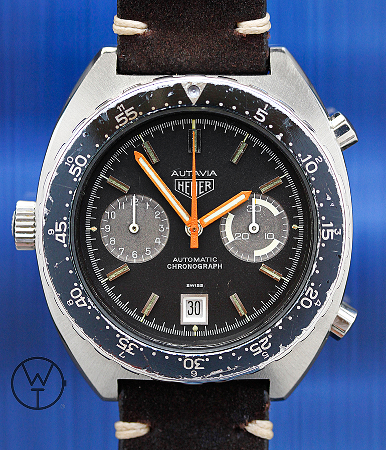 Heuer Autavia RefId 11630 year ca. 1977 Gents Watches, Vintage | Meertz World of Time