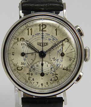 Heuer year 1956 Gents Watches, Vintage | Meertz World of Time