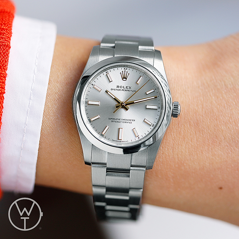ROLEX Oyster Perpetual 34 Ref. 124200
