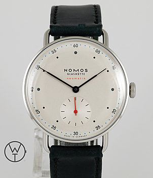 Nomos Metro Ref. 1104 year 2015 Gents Watches | Meertz World of Time
