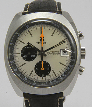 Tissot Navigator year ca. 1970 Gents Watches, Vintage | Meertz World of Time