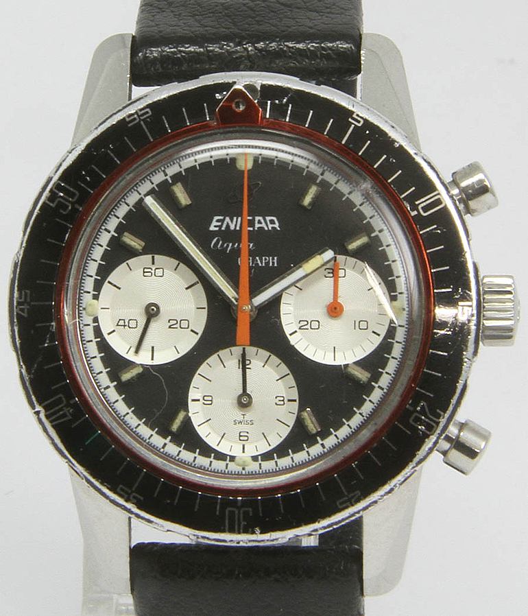 Enicar Aquagraph RefId 2342 year 1969 Gents Watches, Vintage | Meertz World of Time