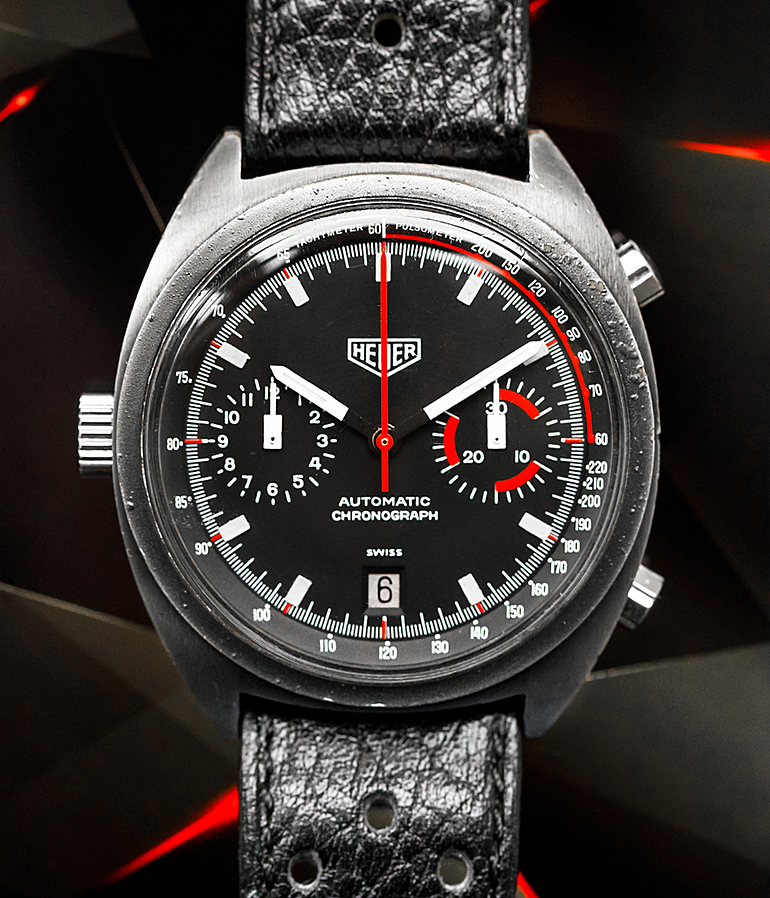 Heuer Monza RefId 150.501 year ca. 1972 Gents Watches, Vintage | Meertz World of Time