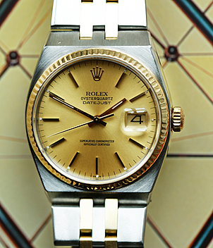 Rolex Vintage Oysterquartz Ref. 17013 Jahr 1979 Herrenuhren | Meertz World of Time