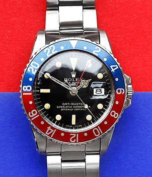 Rolex Vintage GMT Ref. 1675 Jahr 1965 Herrenuhren | Meertz World of Time