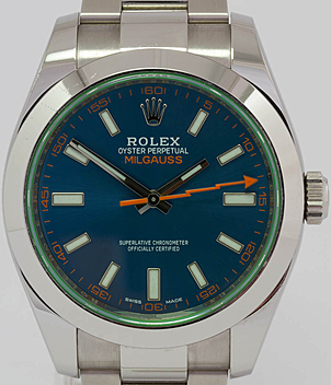 Rolex Milgauss Ref. 116400 GV Jahr 2015 Herrenuhren | Meertz World of Time