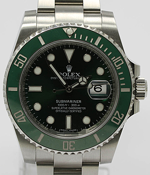 Rolex Submariner Ref. 116610 LV year 2019 Gents Watches | Meertz World of Time