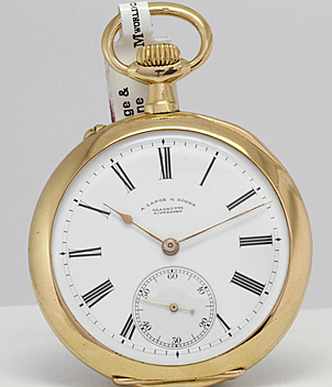 Lange & Söhne Pocket watch year 1907 Pocket-Watches, Gents Watches | Meertz World of Time