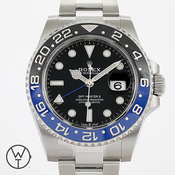 ROLEX GMT Ref. 126710BLNR
