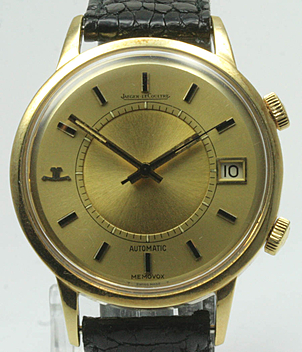 Jaeger LeCoultre Memovox Ref. 875.21 year ca. 1970 Gents Watches, Vintage, Ladies Watches | Meertz World of Time