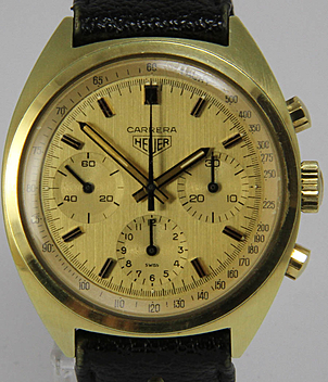 Heuer Carrera Jahr ca. 1972 Herrenuhren, Vintage | Meertz World of Time