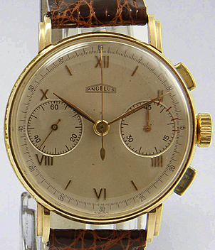 Angelus year ca. 1940 Gents Watches, Vintage | Meertz World of Time