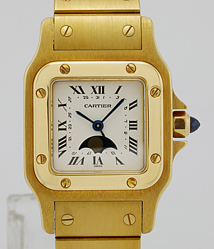 Cartier Santos Jahr 1996 Herrenuhren, Damenuhren | Meertz World of Time