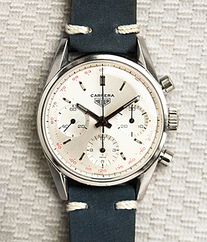 Heuer Carrera Ref. 2447T year 1965 Gents Watches, Vintage | Meertz World of Time