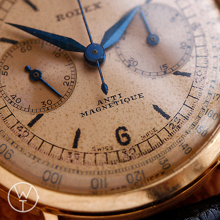 ROLEX Chronographe Ref. 3858