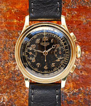 Heuer year ca. 1945 Gents Watches, Vintage | Meertz World of Time