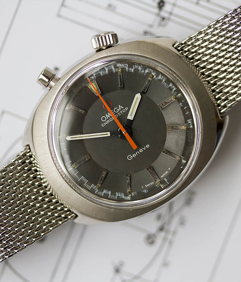 Omega Chronostop RefId 145.010 year 1972 Gents Watches, Vintage | Meertz World of Time