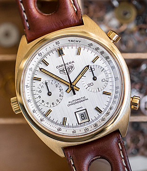 Heuer Carrera Ref. 1158 Jahr 1970 Herrenuhren, Vintage | Meertz World of Time
