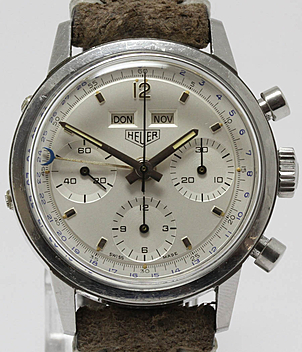 Heuer Carrera Ref. 2547S Jahr 1965 Herrenuhren, Vintage | Meertz World of Time