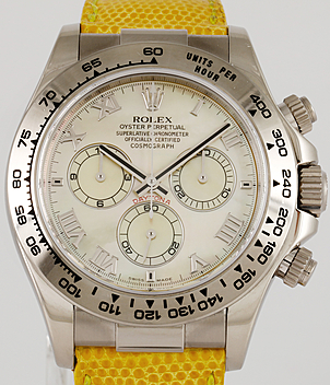 Rolex Daytona Cosmograph Ref. 116519 Beach Jahr 2015 Herrenuhren | Meertz World of Time