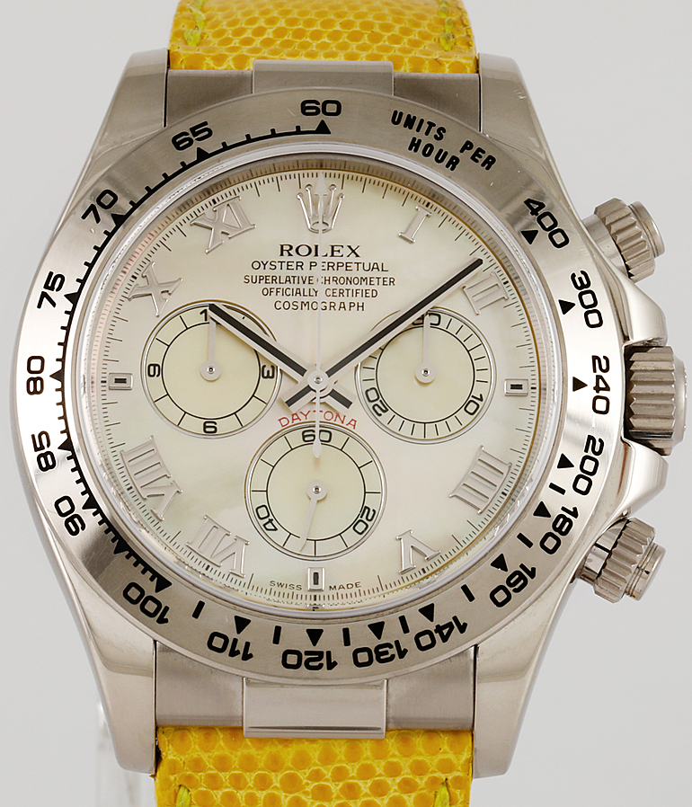 Rolex Daytona Cosmograph RefId 116519 Beach year 2015 Gents Watches | Meertz World of Time