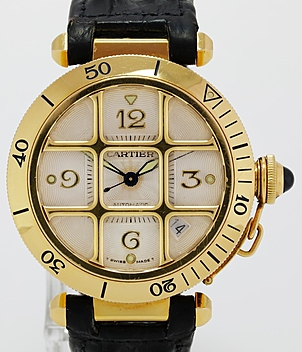 Cartier Pasha Ref. 2393 Jahr 1998 Herrenuhren, Damenuhren | Meertz World of Time