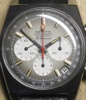 Zenith El Primero Ref. A 385 year 1969 Gents Watches, Vintage | Meertz World of Time