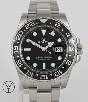 Rolex GMT Ref. 116710LN year 2014 Gents Watches | Meertz World of Time