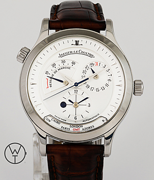 Jaeger LeCoultre Geographique Ref. 142.8.92 year 2005 Gents Watches | Meertz World of Time
