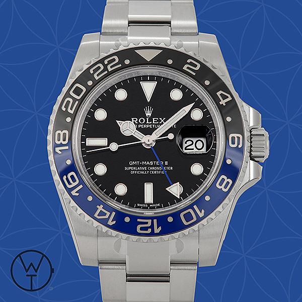 ROLEX GMT Ref. 116710BLNR