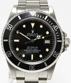 Rolex Vintage Sea Dweller 16660 | Meertz World of Time