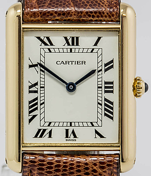 Cartier Tank Jahr ca. 1995 Damenuhren | Meertz World of Time